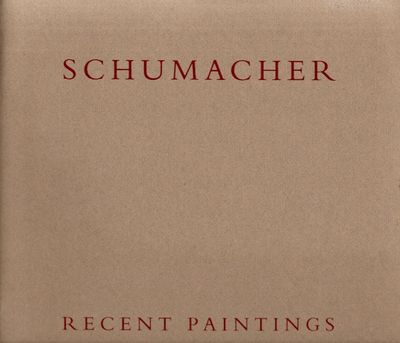 New York: Andre Emmerich Gallery, 1991. First Edition. Soft cover. Very Good. Square quarto. Brown s...