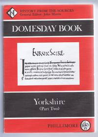 Domesday Book. Volume 30: Yorkshire (Part Two)