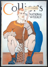 image of Lacrosse player on the cover of Collier's, the National Weekly