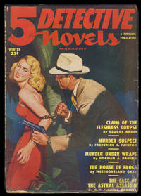 Claim of the Flashless Corpse in 5 Detective Novels Magazine Winter 1950