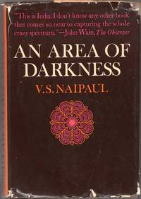 image of An Area of Darkness (1st US edition)