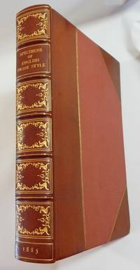 Specimens of English Prose Style from Malory to Macaulay