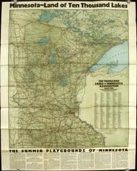 Minnesota's Ten Thousand Lakes.  The Nation's Summer Playground.