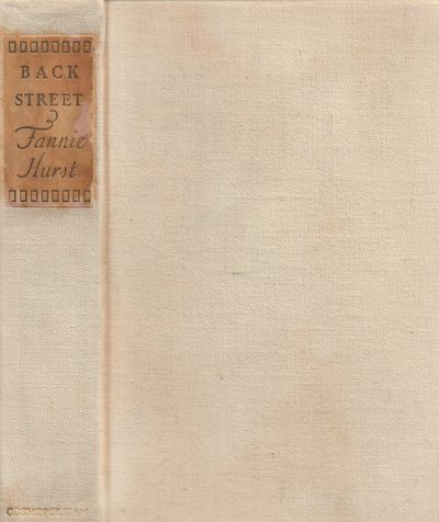 New York: Cosmopolitan Book Corp.. Good with no dust jacket. 1931. First Edition. Hardcover. Natural...