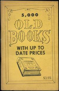 5,000 Old Books With Up To Date Prices