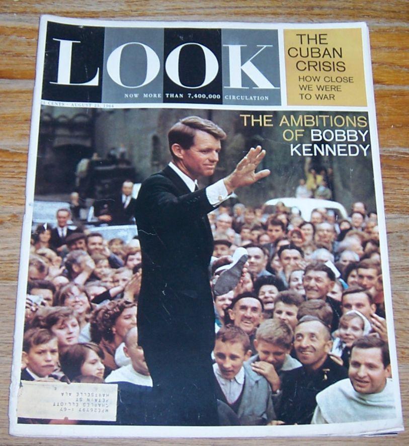 LOOK MAGAZINE AUGUST 25, 1964, Look Magazine