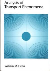 image of Analysis of Transport Phenomena (Topics in Chemical Engineering)