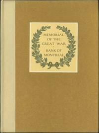 MEMORIAL OF THE GREAT WAR 1914 - 1918; A Record of Service