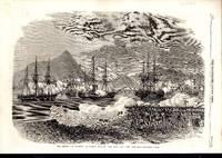 "ENGRACING: ""Rebels or Taipings at Nankin Opening Fire Upon the 'Lee'Gun-..."
