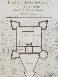 1747 Plan from Prevost's 'Histoire Generale des Voyages': Plan du Fort Anglois de Dickscove, Situe a la Coste de Guinee