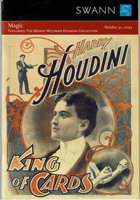image of MAGIC: FEATURING THE MANNY WELTMAN HOUDINI COLLECTION. Public Auction Sale 1949. Thursday, October 31, 2002.