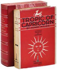 image of TROPIC OF CAPRICORN