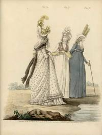 Untitled Fashion Print from Heideloff's The Gallery of Fashion. Fig. 74. Fig. 75. Fig. 76.