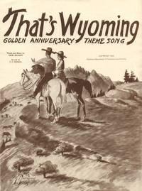 That's Wyoming!
