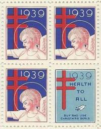 Christmas Seal Stamps 1939 [Rockwell Kent]