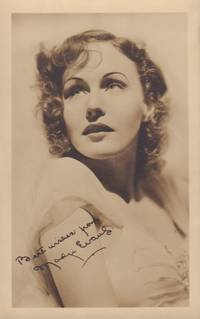 Madge Evans Signed Photograph