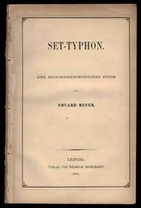 image of Set-Typhon. Eine religionsgeschichtliche Studie.