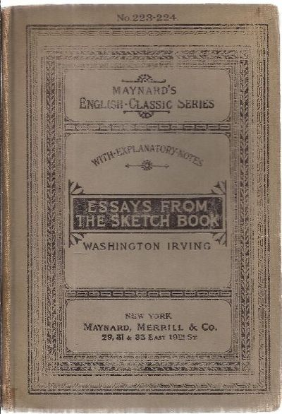 irvings essays from the sketch book You searched for: irving sketch book  the sketch book by washington irving, aka irvings sketch book,  essays, and travelogues.