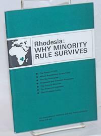 image of Rhodesia: Why Minority Rule Survives