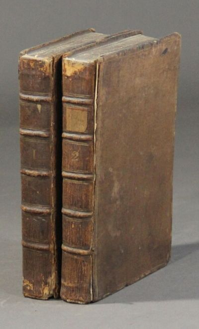 London: J. Tonson, 1732. 2 vols., 8vo, pp. , 356; , 218; engraved vignette title-pp.; bound with, as...