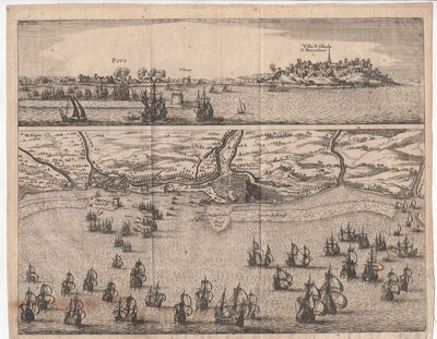 [Copper-Engraved Map of The...