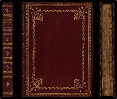 Bononiae : Typis Laelii a Vulpe, 1785. 4to (28 cm, 11.5