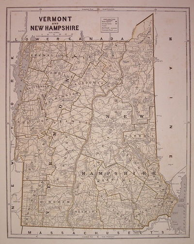 New York: Harper & Brothers, 1842. unbound. very good(+). Map. Color wax engraving (cerograph). Imag...