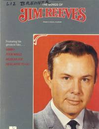 image of The Songs of Jim Reeves; Piano, Vocal, Guitar