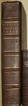 THE HISTORIE [HISTORY] OF THE WORLD IN FIVE BOOKS. Printed in 1628. Folio. Leather. [Travel.]
