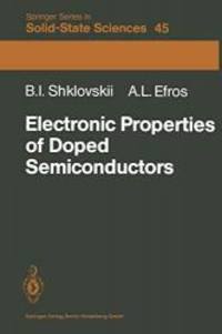 Electronic Properties of Doped Semiconductors (Springer Series in Solid-State Sciences)