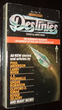 image of Destinies The Paperback Magazine of Science Fiction_Speculative Fact Premier Issue Vol. 1 No. 1