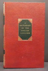 image of A Dictionary of the English Language