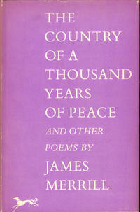The Country of a Thouand Years of Peace and Other Poems