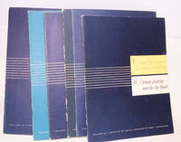 image of Six booklets on medical conditions published as a service to the medical profession 1. Some pathological  conditions of the eye_Corneal grafting and the eye bank, 2.Histopathology of nervous tissue tumors, 3. Retinal pathology, 4. Atlas of common skin diseases, 5. The internal ear, 6.The ear drum and canal