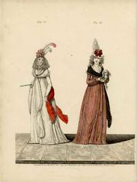 Untitled Fashion Print from Heideloff's The Gallery of Fashion. Fig. 32. Fig. 33.