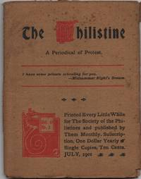image of The Philistine a Periodical of Protest for July 1901
