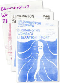 Bloomington Women's Liberation Front [Newsletter]. Five consecutive issues, Jan - May 1971