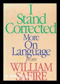 I Stand Corrected : More on Language