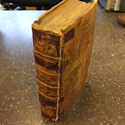 London: Printed for A. Bell, W. Taylor, J. Baker, A. Collins, 1715. Hardcover. 8vo., 565pp., ; G+; s...