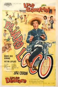 image of Pajaro loco (Original poster for the 1971 film)
