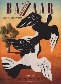 image of Harper's Bazar (Harper's Bazaar) - September 1st, 1937 - Cover Only