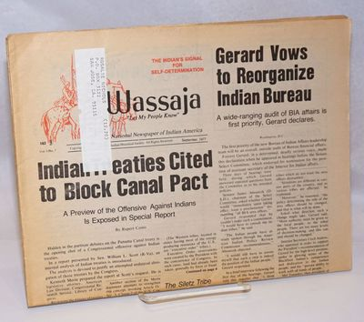 San Francisco: The American Indian Historical Society, 1977. Newspaper. 16p. folded tabloid newspape...