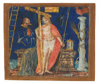 Christ with the Cross from an Antiphonal.
