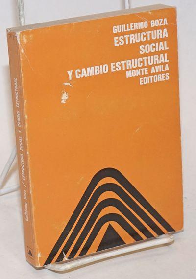 Caracas: Monte Avila Editores, 1977. Paperback. 366p., wraps, 4.5 x 6.25 inches, wraps worn, price s...