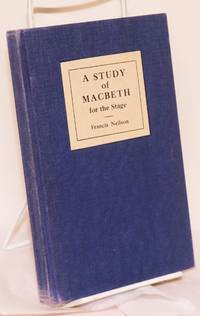 image of A Study of Macbeth for the Stage