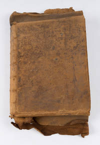 Law Dictionary, England, c 1745, 326 pp