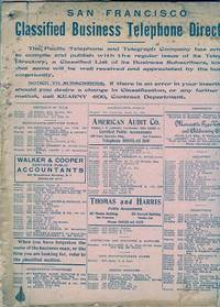 San Francisco Classified business Telephone Directory: circa 1915