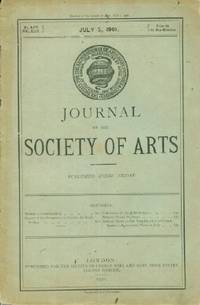 Journal of the Society of Arts, Friday, July 5, 1901, No. 2,537, Vol. XLIX,
