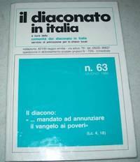 image of Il Diaconato in Italia: A Cura Della Comunita del Diaconato in Italia Servizio di Animazione per le Chiese Locali N. 63, Giugno 1986