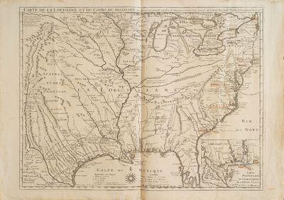 Carte de la Louisiane et du Cours du...
